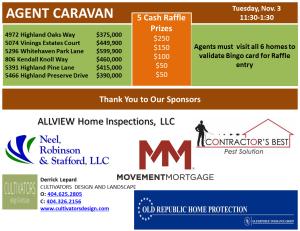 Caravan flyer