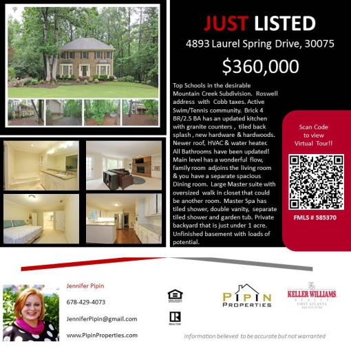1 JUST LISTED
